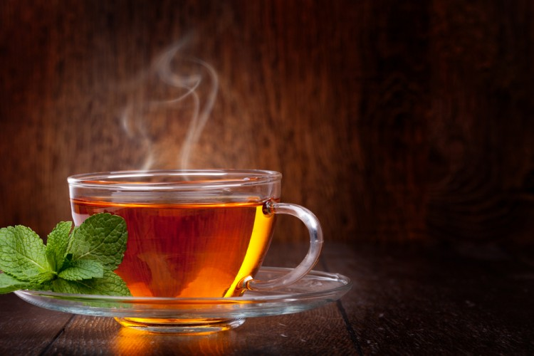 tea, cup, hot, steam, teacup, health, mint, glass, closeup, warm, brown, aroma, organic, full, nobody, cup of tea, aromatic, refreshment