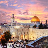 jerusalem, israel, jewish, dome, judaism, kotel, town, ancient, palestinian, palestine, western wall, middle east, wailing wall, skyline, twilight, temple mount, sacred, mosque