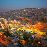 jordan, amman, night, citadel, tourism, stone, travel, archeology, rocky, destinations, yellow, middle, history, god, east, arabia, carved, asia, tourist, historic, monumental,