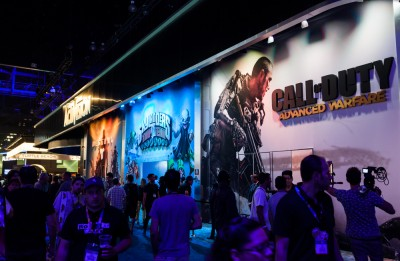 Expo for video games, call, xbox, modern, warfare, leisure, usa, fun, gamepad, business, e3, culture, show, playstation, video, console