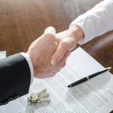 business, closing the deal, contract signature,