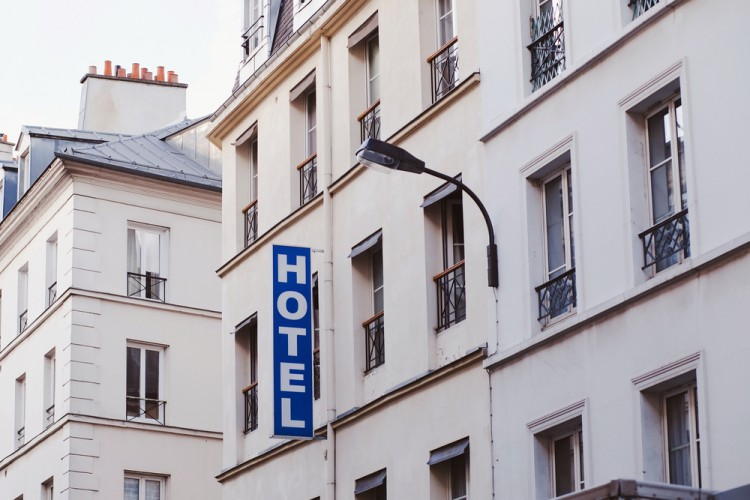 hotel, motel, view, european, hostel, basic, exterior, downtown,
