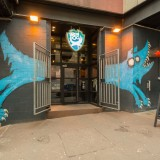 brewdog, uk, edinburgh, craft, bar, brewery, entrance, scotland, brew, beer, cowgate, logo