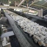 Martin Marietta Materials (NYSE:MLM); crushed stones; mine, conveyor, crushed, rock, belt, truck, industry; machine