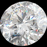 diamond, view, top, prism, closeup, isolated, clear, stone, expensive, sparkle, carat, precious, jewelry, value, wealth, luxury, treasure, jewelery