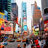 new, york, time, brand, street, shops, broadway, signs, ads, nyc, stores, light, tourist, taxi, manhattan, usa, famous, cab, panorama, america, bright, building, states,US