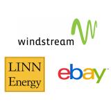 Windstream Corporation (WIN), NASDAQ:WIN, Linn Energy LLC (LINE), NASDAQ:LINE, eBay Inc (EBAY), NASDAQ:EBAY,