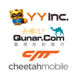 YY Inc (YY), NASDAQ:YY, Qunar Cayman Islands Ltd (QUNR), NASDAQ:QUNR, Cheetah Mobile Inc (CMCM), NYSE:CMCM,
