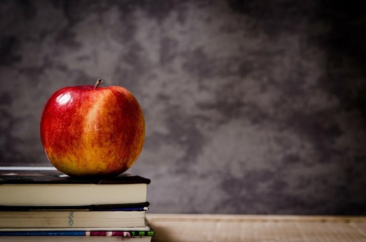 book, education apple-256263_1280