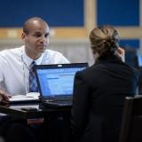Work Computer Meeting Interview