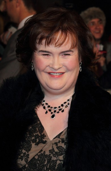 Celebrities with Autism - Susan Boyle