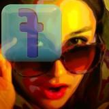 facebook FB woman