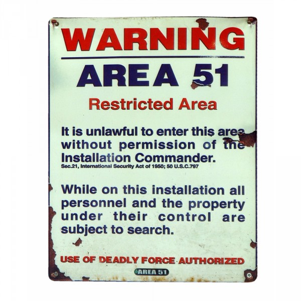 Declassified Facts about Area 51