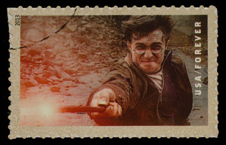 potter, daniel, jk, book, uk, rowling, fiction, stamp, order, 2013, magic, radcliffe, stain, postage, philately, used, magical, fantasy, mail, british, canceled, kingdom, tale, postmark, harry, 11 Movies That Sold The Most Merchandise
