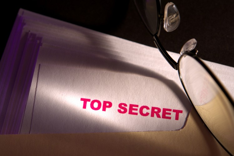 Top secret, confidential