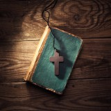 bible, cross