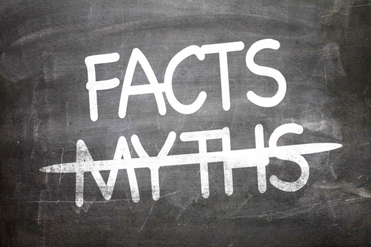 Facts, Myths, blackboard