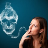 cigarette, smoking, skull, death, bad habit