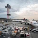 JFK International Airport cargo boxes