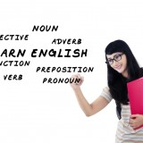 Rosetta Stone, RST, whiteboard,student writes english language, learning, teaching shutterstock_212760592