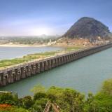 vijayawada, india, south, outdoor, roofs, travel, urban, life, building, asia, concrete, historic, flat, barrage