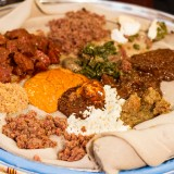 ethiopian, food, injera, teff, meal, kitfo, wot, wat, stew, cultural, delicious, egg, traditional culture, meat, stew