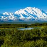 mckinley, mount, denali, alaska, view, alaskan, snow, outdoor, cold, america, park, river, north, lake, range, mountainous, mt., reflection, wind, winter, wilderness
