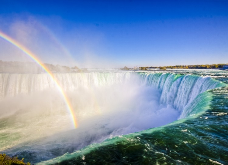 Canada North America Attraction Niagara Falls Scenery Tourist