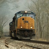 csx, train, appalachian, rail, winter, railway, chesapeke and ohio, power, business, coal, infrastructure, freight, countryside, energy, transport, cargo, west virginia, sd 70ac,