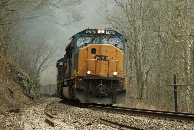 csx, train, appalachian, rail, winter, railway, chesapeke and ohio, power, business, coal, infrastructure, freight, countryside, energy, transport, cargo, west virginia, sd 70ac,