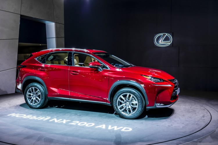 lexus, nx, auto, russia, electric, model, expensive, autoshow, 200, future, red,