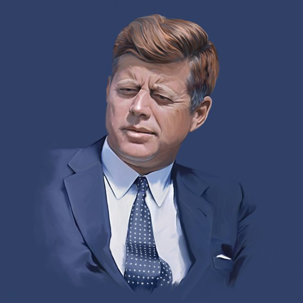 john, f, jfk, 1960s, usa, politician, president, politics, history, assassination, historic, jackie, american, senator, government, united, assassinated, portrait, states, kennedy 6 Conspiracy Theories About JFK's Assassination