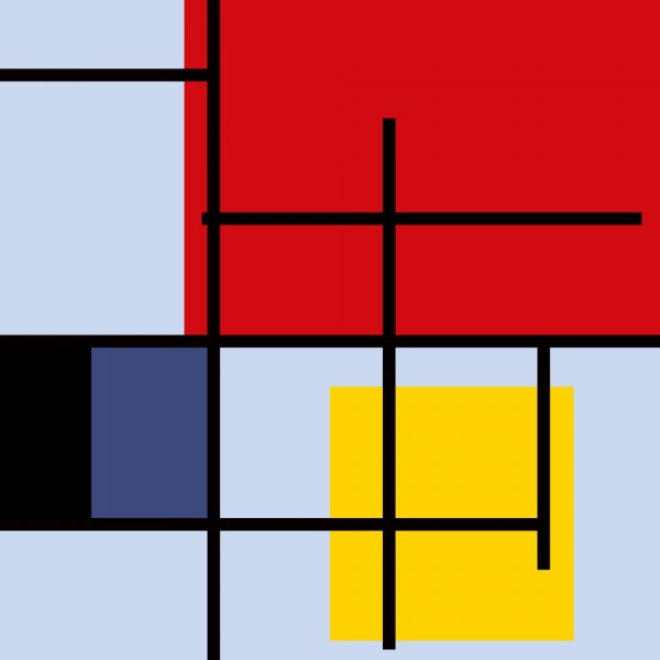 mondrian, piet, abstract, decoration, parallel, print, yellow, vector, line, cyan, crossover, suprematism, tetragon, old, element, black, striped, repeat, fabric, box, illustration,