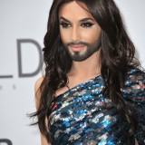 conchita, wurst, 2014, against, personality, transsexual, cinema, star, glamour, eurovision, aids, fashion, celebrity, bearded, beard, lady, gala, famous, fame, transgender, style, singer, amfar