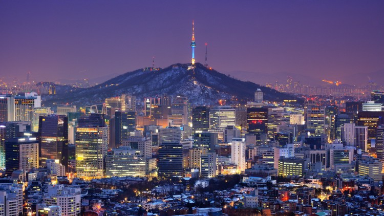 korea, seoul, night, tower, capital, business, korean, view, skyline, financial district, nightscape, metropolis, buildings, travel destination, seoul south korea, cityscape,