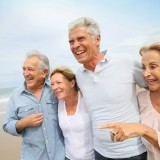 old, group, friends, leisure, fun, years, european, happiness, embracing, walking, 60-65, people, caucasian, elderly, women, togetherness, holidays, lifestyle, beach,