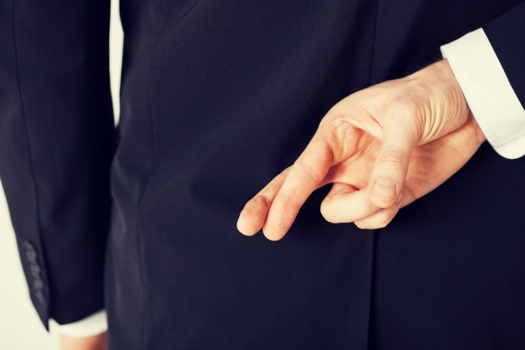 lie, cheat, liar, fake, dishonest, business, uncertain, truth, trust, crossed, hidden, oath, two, swear, corporate, sign, success, fingers, male, people, wish, worker, hiding, suit, 10 Most Dishonest Professions in America