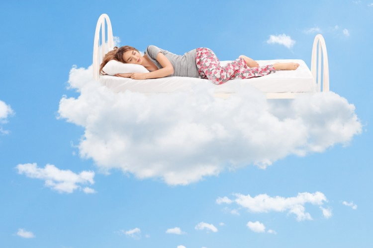 sleep, mattress, woman, bed, bedding, cloud, comfortable, dream, soft, nightwear, girl, pillow, young, 20s, gorgeous, imagining, expression, clothes, adult, napping,6 Highest Rated Mattresses for Back Pain