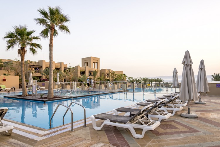 hotel, luxurious, swimming pool, vacation, holiday, jordan, dead sea, leisure