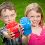 children, summer, hawaiian shave ice, friends, delicious, sweet, friendship, sister, kids, snow cone, refreshing, shave ice, smile, brother, play, siblings, summertime