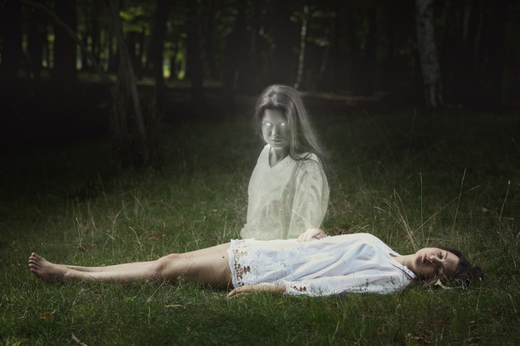 ghost, astral, halloween, creepy, soul, green, white, projection, magic, spirit, sleeping, dark, young, girl, forest, surreal, woman, free, dead, horror, trip, beautiful, dreaming,
