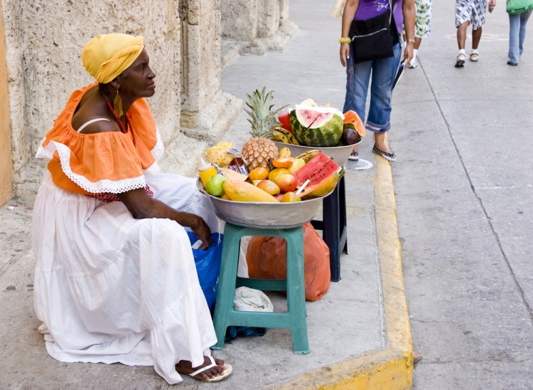 afroamerican, america, basket, black, cartagena, colombia, colombian, colorful, costume, culture, custom, dress, ethnic, ethnicity, female, food, friendly, fruit, market, 11 Countries with Highest Black Population outside Africa