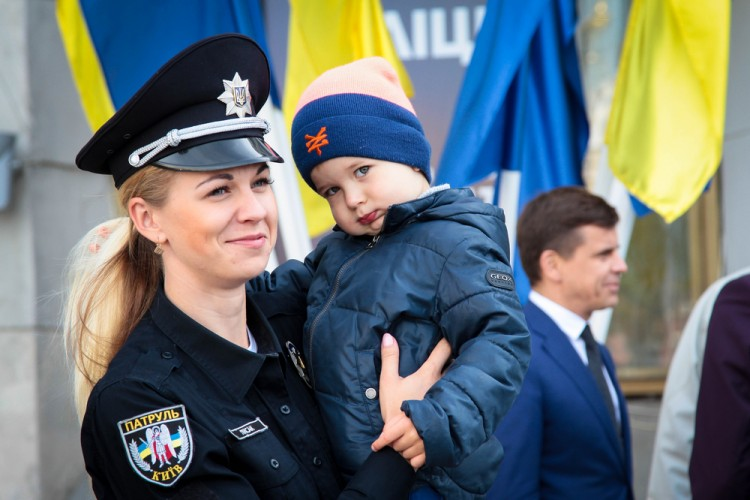 woman, many, boy, sign, symbol, start, girl, affairs, internal, kid, child, functioning, uniform, man, police, new, event, smile, young, holding, ukraine, beautiful, recruits, 11 Countries With Highest White Population
