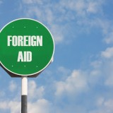 aid, foreign, sign, overseas, donation, help, assistance
