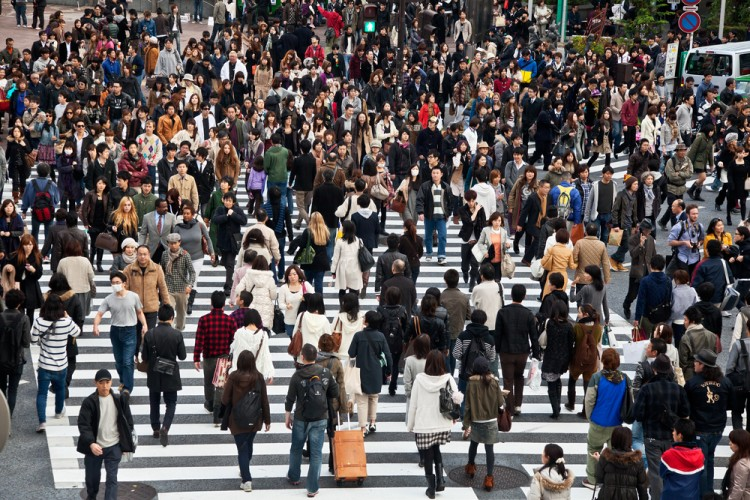 people, crowd, crowded, street, busy, walk, tokyo, lots, rush, asia, hour, japan, crossing, business, asian, work, life, shibuya, crosswalk, pedestrians, traffic, road, urban, 11 Countries with Highest Urban Population by Percent