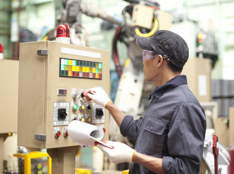 test, plant, control, panel, robot, engineering, engineer, worker, asian, power, checking, electrician, electricity, technician, tool, assembly, repairman, male, technology, 11 Fastest Growing Blue Collar Jobs