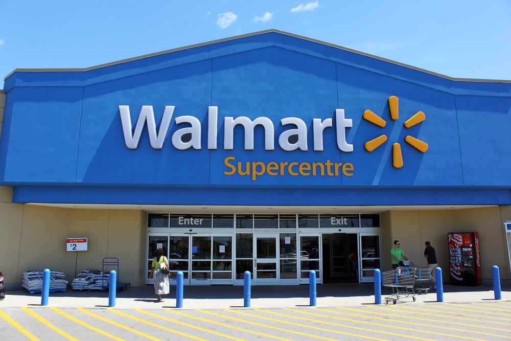 walmart, supermarket, store, market, canada, sign, door, shop, exterior, billboard, ontario, retail, building, cheap, storefront, board, retailer, toronto, advertisement,