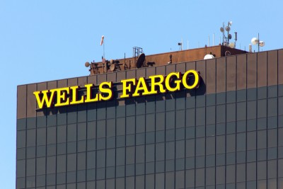 wells, fargo, bank, banking, outdoor, corporation, business, sign, symbol, contemporary, letter, deposits, architecture, invest, investing, services, branch, logo, financial,