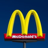 mcdonald, mcdonald's, mc, donald, macdonalds, sign, symbol, store, fast, fastfood, corporation, red, business, drink, yellow, drive-in, restaurant, entrance, chain, emblem,