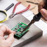 training, closeup, technician, micro, technical, printed, tool, solder, engineering, processor, mount, digital, engineer, circuit, technology, microchip, computer, soldering,